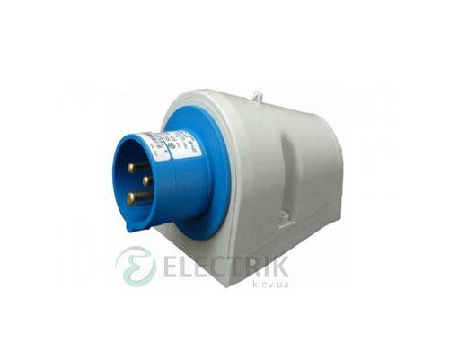 Вилка настенная EP-1632 IP44 (16A, 230V, 2P+PE), ETI (Словения)