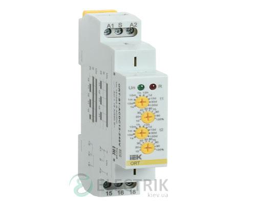 Реле времени ORT циклическое 1 контакт 12-240В AC/DC