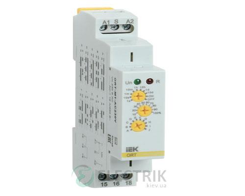 Реле времени ORT многофункциональное 1 контакт 230В AС