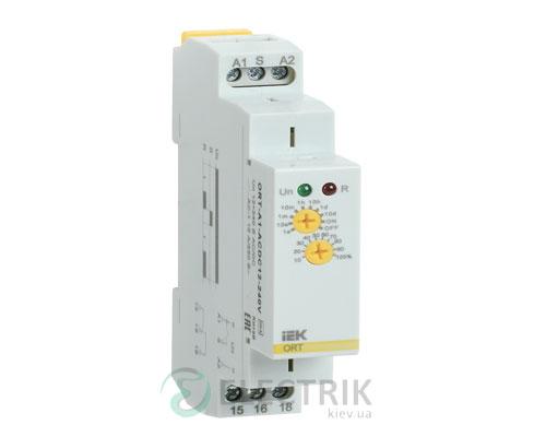 Реле задержки включения ORT 1 контакт 12-240В AС/DC