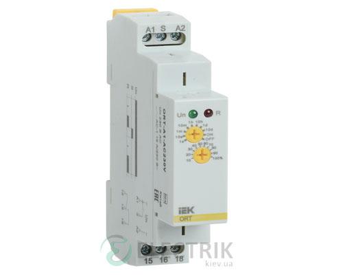 Реле задержки включения ORT 1 контакт 230В AС