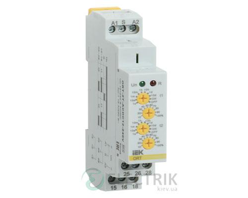 Реле задержки включения ORT 2 контакта 2 уставки 12-240В AC/DC