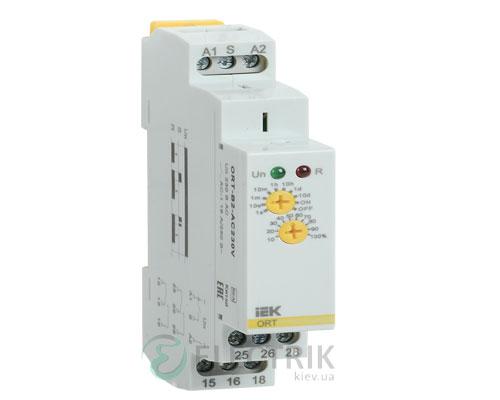 Реле задержки выключения ORT 2 контакта 230В AС