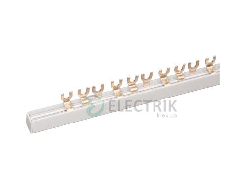 Шина соединительная типа FORK (вилка) 3P 63 А шаг 18 мм, IEK