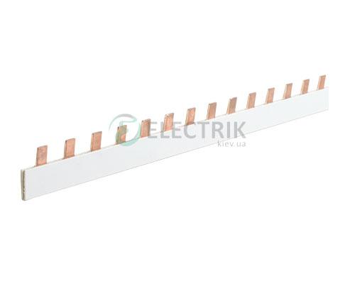 Шина соединительная типа FORK (вилка) 1P 100 А шаг 18 мм, IEK