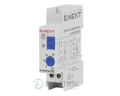 Таймер освещения лестничный электронный e.control.t02